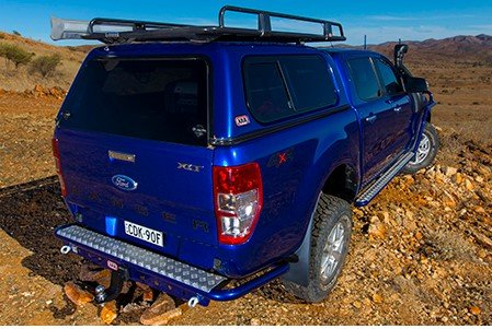 Кунг Arb на Ford Ranger Extra Cab STD ROOF 2011+